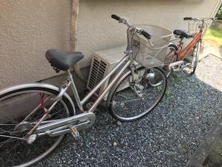 26インチ自転車2台大阪市港区