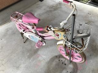 子供自転車を回収しました 大阪市北区中津