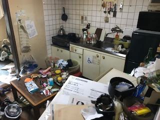ゴミ屋敷の片付けをしました 大阪府 大阪市 旭区ゴミ屋敷遺品整理不用品回収簡単な引越し は関エコへ3