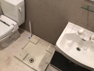 洗濯機 4.5kg 2012年 を回収しました 大阪府 豊中市 豊中町東ゴミ屋敷遺品整理不用品回収簡単な引越し は関エコへ2