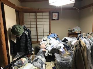 遺品整理の片付けをしました 箕面市新稲ゴミ屋敷遺品整理不用品回収簡単な引越し は関エコへ